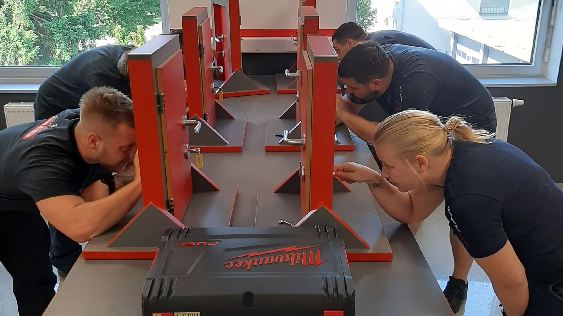 Izobraževanje - Tehnični vstopi v objekte