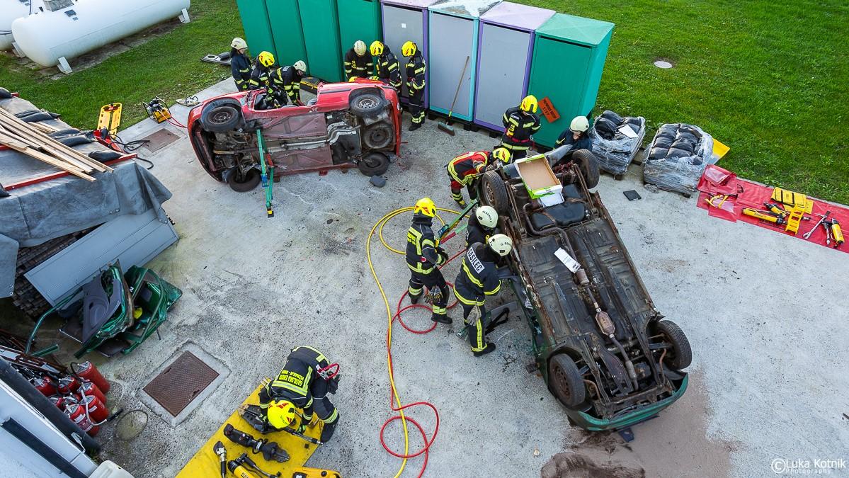 Weber Rescue - usposabljanje