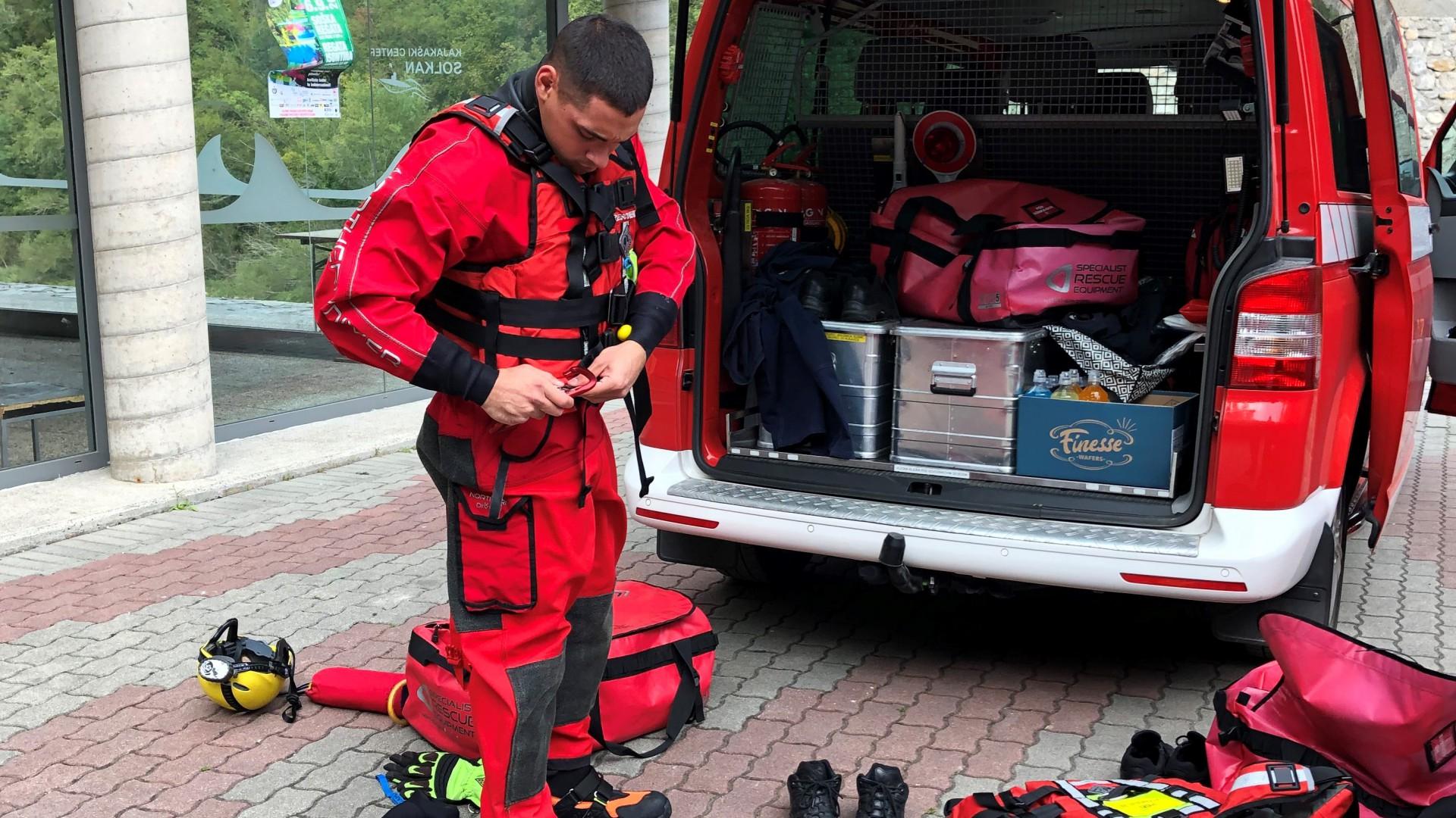 Izobraževanje za reševalce na divjih vodah