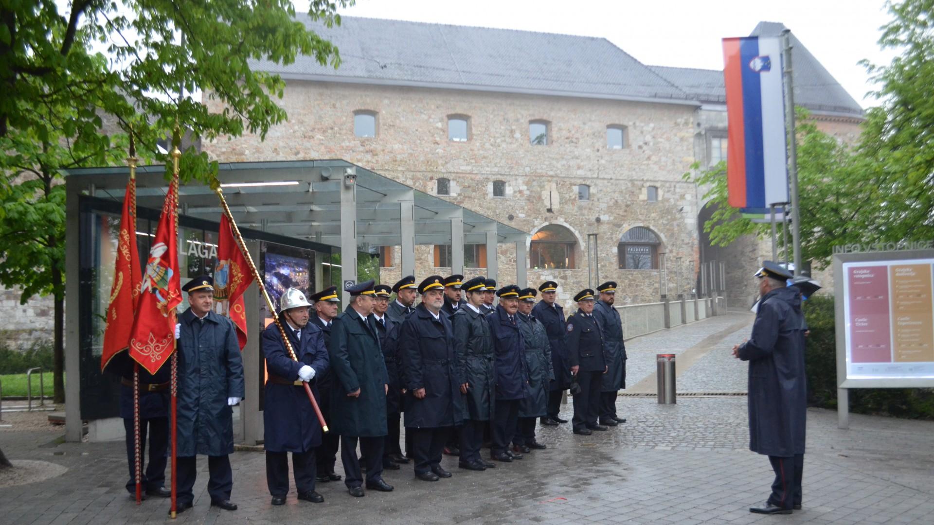 Jurijeva maša na Ljubljanskem gradu