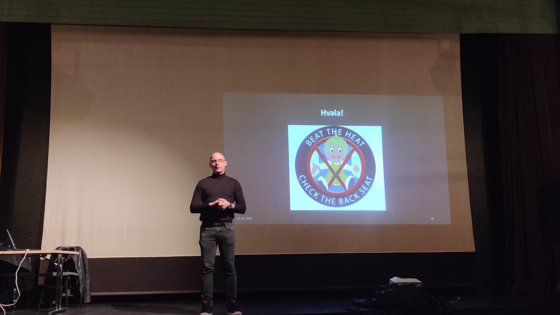 Seminar gasilcev ˝Đabe trening˝ v Medvodah